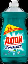Lavatrastres Axion Complete Poderoso en Plasticos 1.1 L