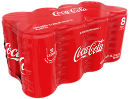 Refresco Coca-Cola 235 Ml 8-Pack Lata