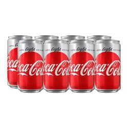 Refresco Coca-Cola Light 235 Ml 8-Pack Lata