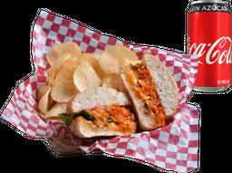 Envío Gratis: Torta de Marlin al Pastor + Coca-Cola Sin Azúcar