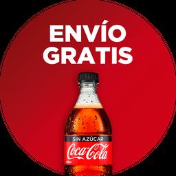 Envío Gratis: Sándwich de Camarón + Coca-Cola Sin Azúcar