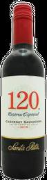 Vino Tinto Santa Rita 120 Cabernet Sauvignon Especial 375 mL