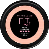 Polvo Facial  Maybelline Compacto Super Natural Fit me 12 g
