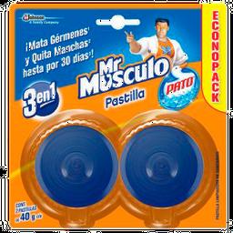 Pastilla Para Baño Mr Músculo    Econopack 2 U