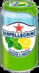 Agua Mineral San Pellegrino Jugo De Fruta Infusion Menta 330 mL