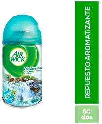 Aromatizante Air Wick Repuesto Acquamarina 175 g