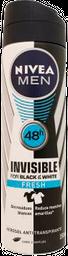 Antitranspirante Nivea En Aerosol Para Caballero 150 mL