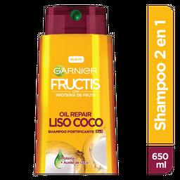 Shampoo 2En1 Fructis Liso Coco
