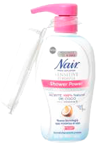 Crema Depiladora Nair Shower Power 357 g