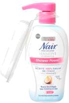 Crema Depiladora Nair Shower Power 357 g