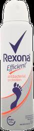 Desodorante Para Pies Rexona Efficient Antibacterial 153 mL