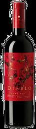 Vino Tinto Diablo Dark Red Chile 750mL