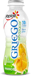 Yogurt Bebible Yoplait Griego Mango Sin Azúcar 220 g