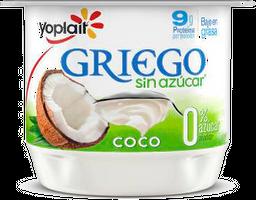 Yogurt Griego Yoplait Batido Coco Sin Azúcar 145 g