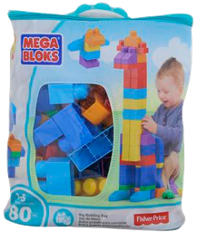 Juguete Mega Bloks 80 U