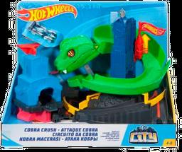 Juguete Infantil Hot Wheels Pista Cobra Trituradora 1 U