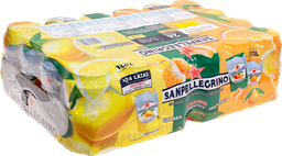 Bebida San Pellegrino Mix Pack 330 mL x 24