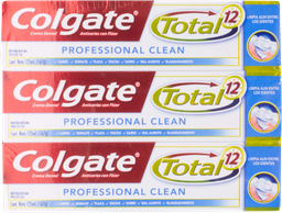 Pasta Dental Colgate Total 12 125 mL x 6 U