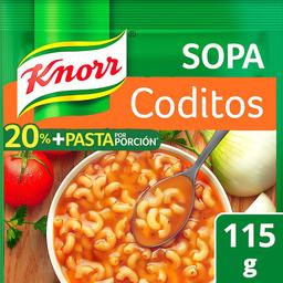 Pasta Knorr  Para Sopa de Coditos 115 g