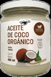 Aceite de Coco Natura BioFoods Orgánico Extra Virgen 450 mL
