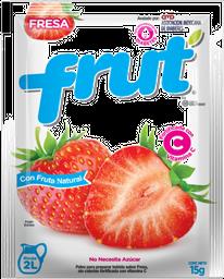 Frut Frut Concentrado Fresa 20 Gr