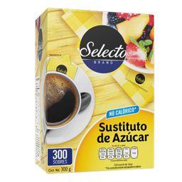 selecto brand sustituto del azucar 300 sobres