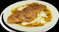 Chilaquiles con Costilla