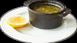 Sopa Verde de Pescado