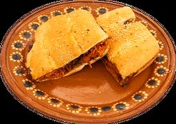 Torta De Cocnita Pibil Con Queso Vegetariana (Soya)