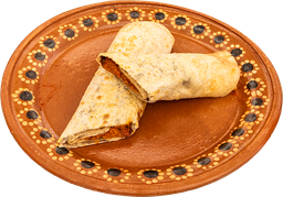 Burro De Cochinita Pibil Con Queso Vegetariana (Soya)