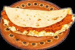 Mega Quesadilla Vegetariana (Soya)