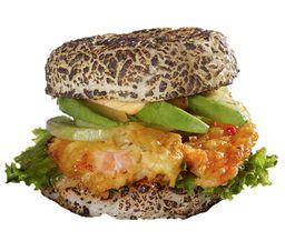 Sushi Burger de Camarón