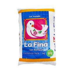 La Fina Sal Yodada Flourada Kg