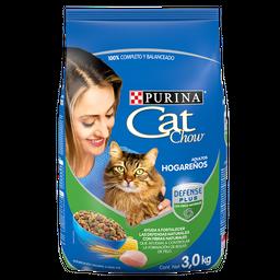 Alimento Para Gato Cat Chow Adultos Hogareños 3 Kg