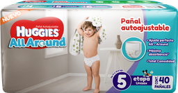 Huggies All Around Etapa 5 Unisex