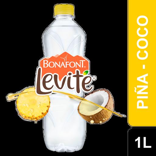 Agua Saborizada Levité Piña Coco 1 L