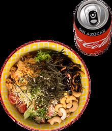 Envío Gratis: Poke Bowl Grande + Coca-Cola Sin Azúcar