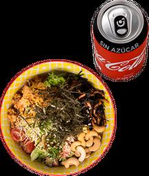 Envío Gratis: Poke Bowl Chico + Coca-Cola Sin Azúcar