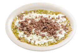 Chilaquiles con Bisteck