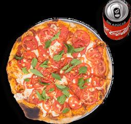 Envío Gratis: Pizza Margarita + Coca-Cola Sin Azúcar