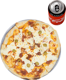 Envío Gratis: Pizza Mozzarella + Coca-Cola Sin Azúcar