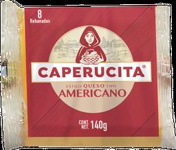 Queso Americano Caperucita Rebanadas 140 g