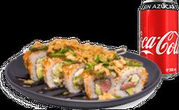 Envío Gratis: Rollo Spicy Tuna + Coca-Cola Sin Azúcar