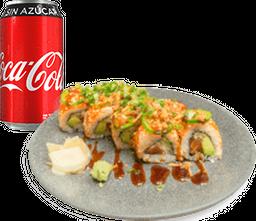 Envío Gratis: Rollo Spicy Salmón + Coca-Cola Sin Azúcar