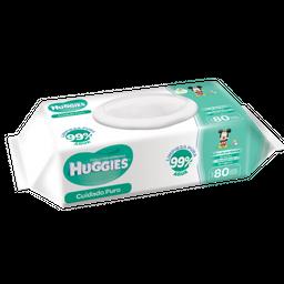 Huggies Toallitas húmedas Natural care sin aroma