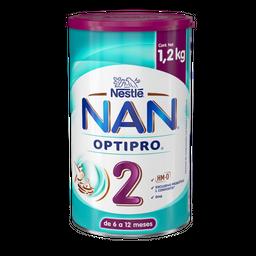 Fórmula Láctea Nan Optipro 2