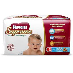Huggies supreme Pañales p  niño Etapa 3
