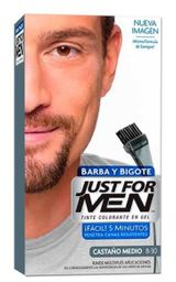 Just For Men Tintes Para barba Barba Castaño medio