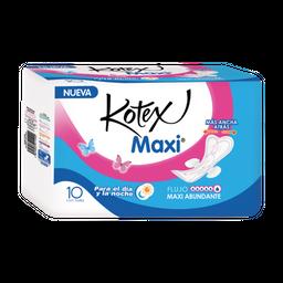 Kotex Toallas femeninas Maxi rosa