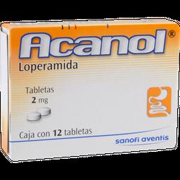Acanol 12 Tabletas